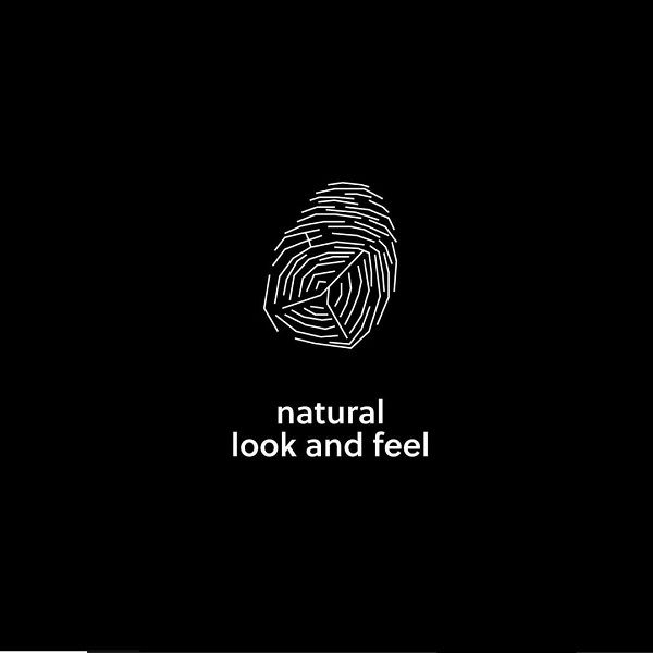 Natural look and feel